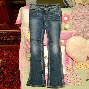 29/33 Silver Jeans Twisted bootcut mid rise jeans